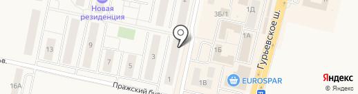 Мастер БИТ на карте Гурьевска
