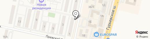 Народный на карте Гурьевска