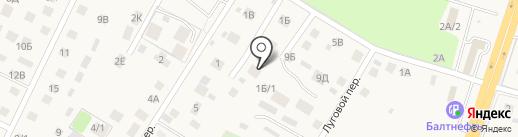 Аквамарин+ на карте Гурьевска