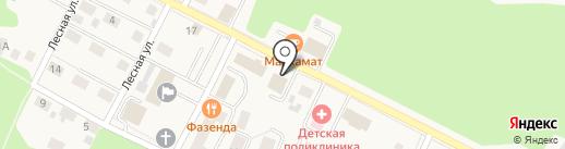 Управление Пенсионного фонда РФ в Гурьевском районе на карте Гурьевска