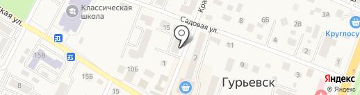 Салон красоты на карте Гурьевска