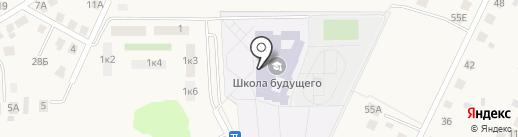 Школа художественной гимнастики олимпийской чемпионки Анастасии Назаренко на карте Большого Исаково