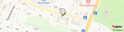BENEFIT на карте Гурьевска