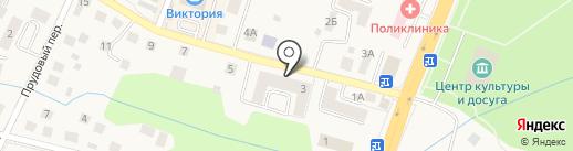 Тюлька на карте Гурьевска