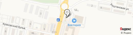 Невский кондитер на карте Гурьевска