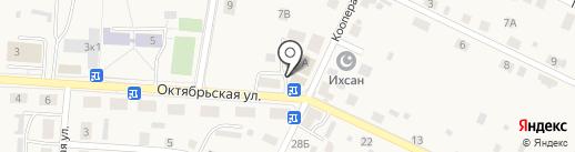 Любушка на карте Большого Исаково