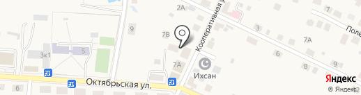 Хозяюшка на карте Большого Исаково