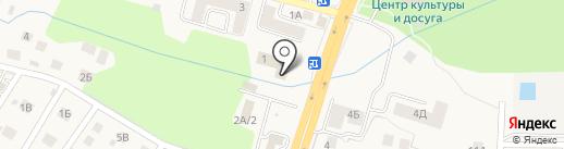 Гурьевская централизованная библиотечная система, МБУ на карте Гурьевска