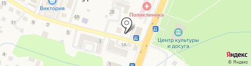 Quickpay на карте Гурьевска