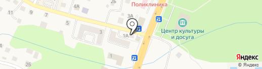 Злата на карте Гурьевска
