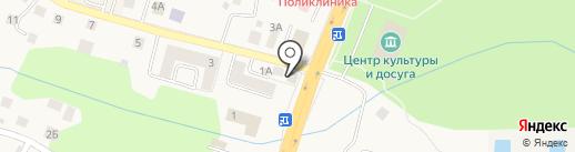 Билайн на карте Гурьевска