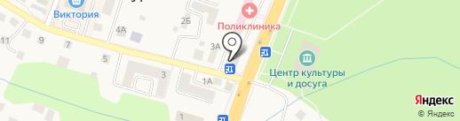 МЕГА-СУШИ на карте Гурьевска