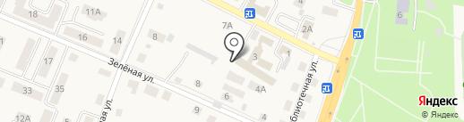 ОМВД России по Гурьевскому муниципальному району на карте Гурьевска