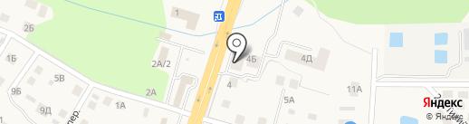 Торэкс на карте Гурьевска