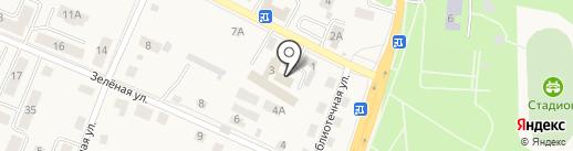 Управление МВД России по Гурьевскому муниципальному району на карте Гурьевска