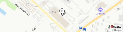 КДВ Групп на карте Гурьевска