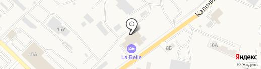 La Belle на карте Гурьевска