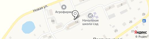Багратионовская звезда на карте Партизанского