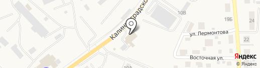 Пожарно-спасательная часть №20 Гурьевского муниципального района на карте Гурьевска
