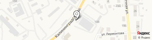 Сладкий рай на карте Гурьевска