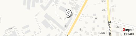 Водстрой на карте Гурьевска
