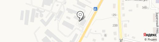 Монтажная фирма на карте Гурьевска