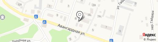 Авангардный на карте Гурьевска