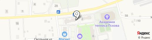 Советская аптека на карте Писковичей