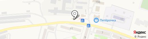 Магазин хозтоваров и игрушек на карте Писковичей