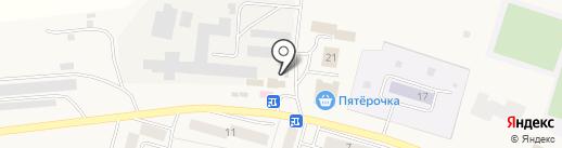 Белочка на карте Писковичей