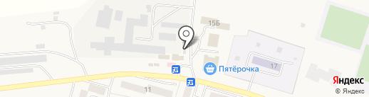 Курочка на карте Писковичей