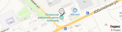Неёловский КДЦ на карте Неелово 1-е