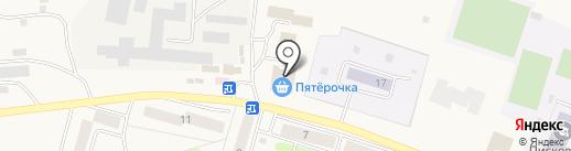 У Любани на карте Писковичей