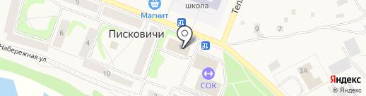 Псковская районная библиотека на карте Писковичей