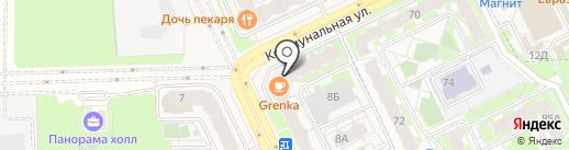 Оптим60 на карте Борисовичей