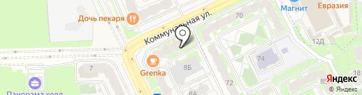 The Hockey House 68 на карте Борисовичей