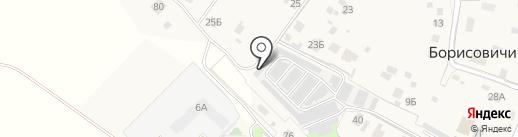 Первый автосервис самообслуживания на карте Борисовичей