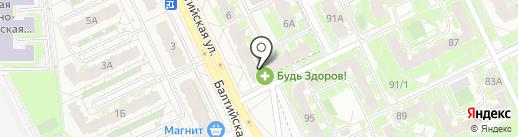 Продуктовый магазин на карте Борисовичей