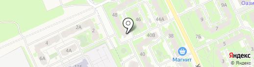 Почтовое отделение №25 на карте Пскова