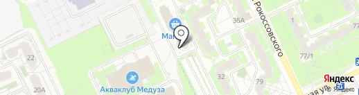 PUDRA на карте Пскова