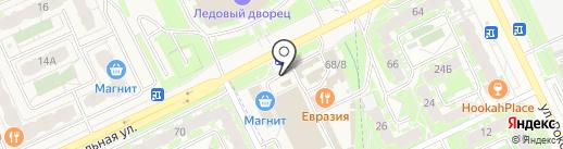 Соня на карте Пскова