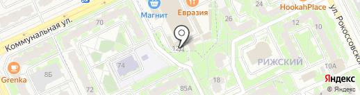 Страховая компания на карте Пскова