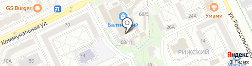 Цифра на карте Пскова