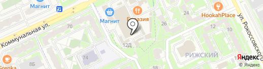 Flor2U.ru на карте Пскова