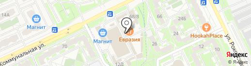 Вольт на карте Пскова