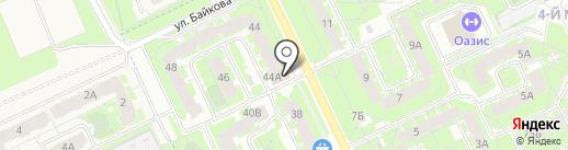 КОТЭдж на карте Пскова