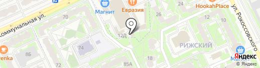 Мираж на карте Пскова