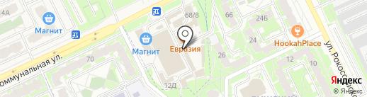 Секонд-хенд №1 на карте Пскова