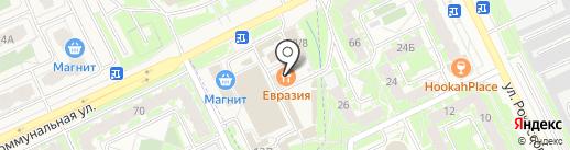 Центр проката инструмента и оборудования на карте Пскова