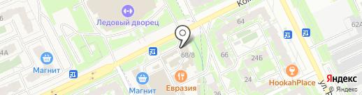Ассорти на карте Пскова
